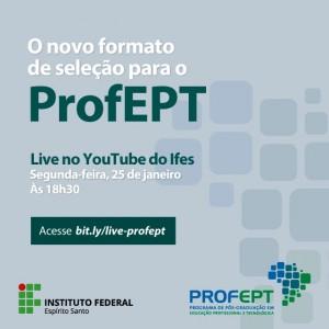 PROFEPT Live novo ENA